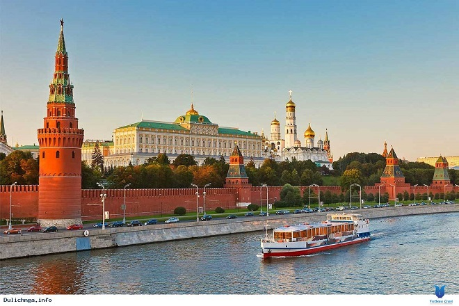 1. Thủ đô Matxcơva - một trong những điểm du lịch phát triển nhanh nhất trên thế giới