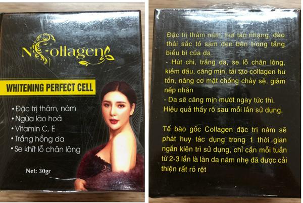 Mỹ phẩm N-Collagen ghi công dụng không đúng bản chất sản phẩm bị xử phạt