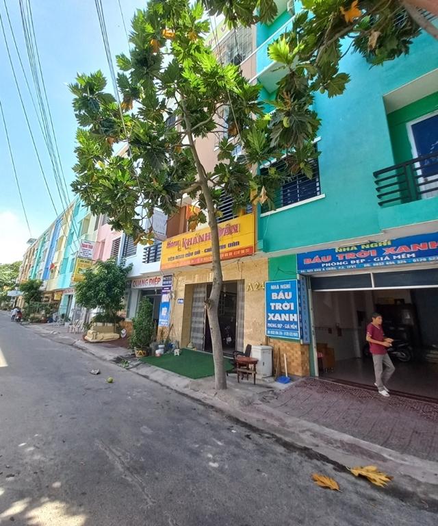 Dãy nhà nghỉ khu Á Châu, phường 2, Tp. Vũng Tàu vắng khách