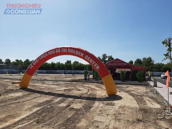 Lễ giới thiệu dự án Khu đô thị Golden Center do Công ty Khang Thịnh Phát tổ chức.