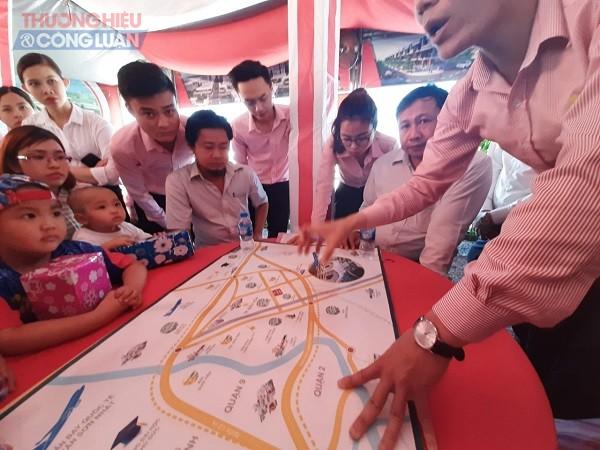 """Theo khách hàng, thời gian qua thông qua việc rao bán nhà đất ở TP.HCM Công ty Khang Thịnh Phát đã """"dụ"""" khách hàng đến những dự án do công ty phân phối tại tỉnh Đồng Nai."""