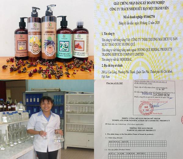 Người sáng lập thương hiệu Hương Quê - cô Nguyễn Thị Yến xuất thân là một giảng viên chuyên ngành hóa học, hiện đang công tác tại Trường Cao đẳng Kinh tế Kỹ thuật thành phố Hồ Chí Minh