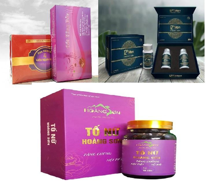 TPCN Hoàng Sơn quảng cáo thực phẩm chức năng chữa bách bệnh