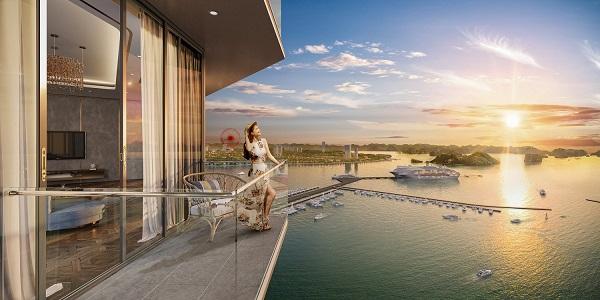 """Sun Marina Town được ví như những """"du thuyền giữa tầng không"""""""