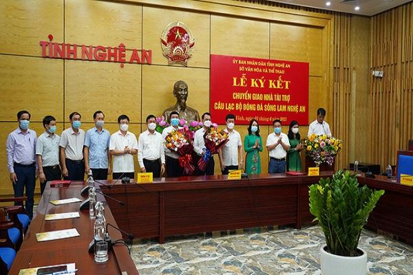 CLB bóng đá Sông Lam Nghệ An sẽ giữ nguyên tên gọi sau khi có nhà tài trợ mới