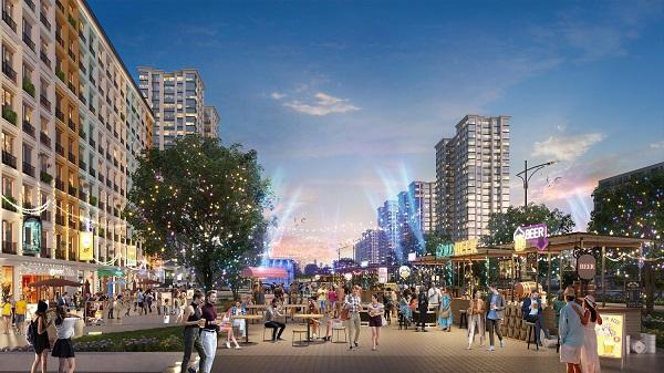 Không khí sôi động trong tương lai tại đại đô thị phức hợp Sun Grand Boulevard
