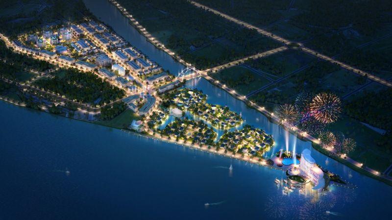 Phối ảnh KĐT mới Cồn Khương – một dự án mới do Văn Phú – Invest triển khai tại Cần Thơ