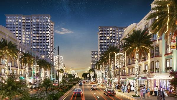 Những dự án mới như trục đại lộ và quảng trường biển đang xây dựng sẽ tạo điều kiện phát triển kinh tế đêm tại Sầm Sơn