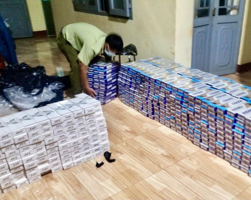 Cục QLTT Bình Phước phát hiện đối tượng vận chuyển 7.000 bao thuốc lá điếu nhập lậu