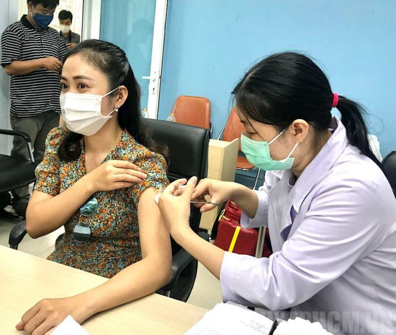 Tiêm vaccine phòng Covid -19 tại Viện Pasteur TP.HCM