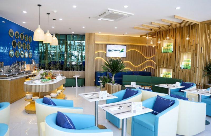 Phòng chờ được xây dựng theo phong cách kiến trúc hiện đại, thân thiện với môi trường