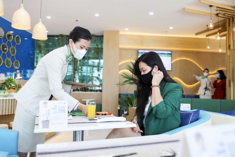 Hành khách được phục vụ với chuẩn mực dịch vụ định hướng 5 sao
