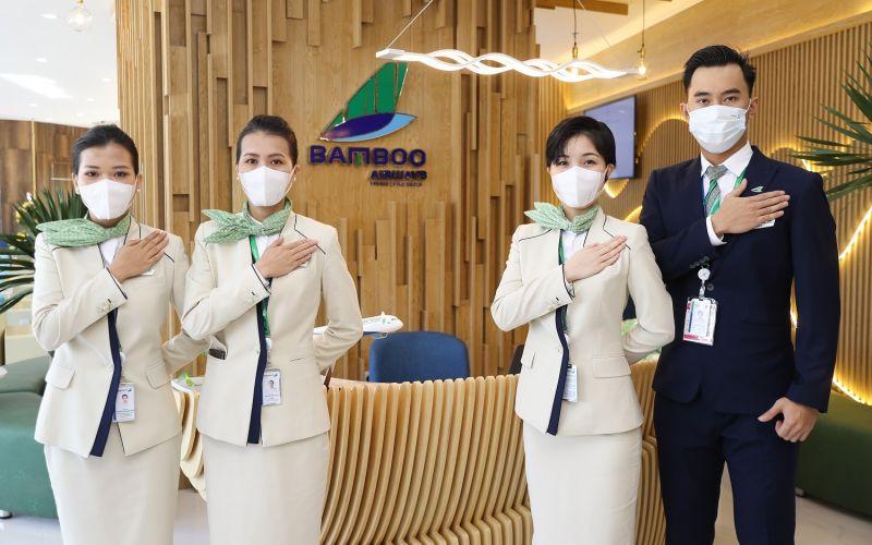 Bamboo Airways tiếp tục tuân thủ nghiêm ngặt các biện pháp phòng chống dịch