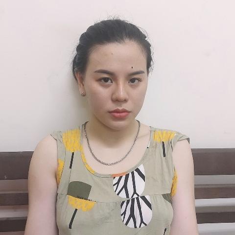 Đối tượng Lê Thị Thảo Linh (ảnh CQĐT)