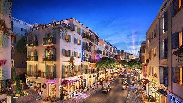 The Center với tiềm năng thương mại khổng lồ khi đón trọn lượng khách đến Nam đảo Ngọc