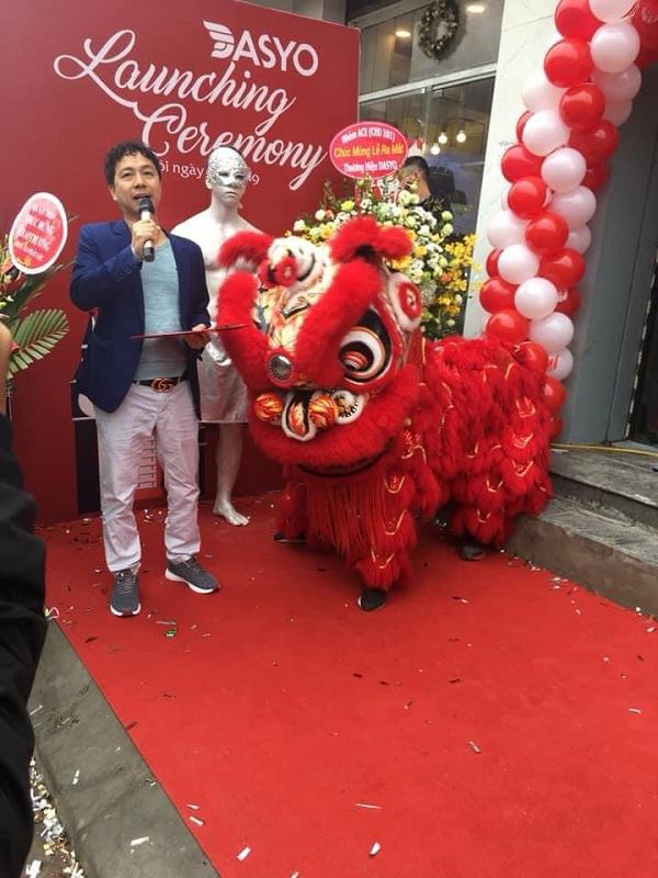 Chủ tịch Nguyễn Văn Đắc trong lễ ra mắt thương hiệu Dasyo