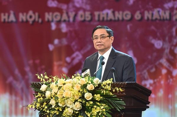 Thủ tướng Chính phủ Phạm Minh Chính phát biểu tại buổi lễ