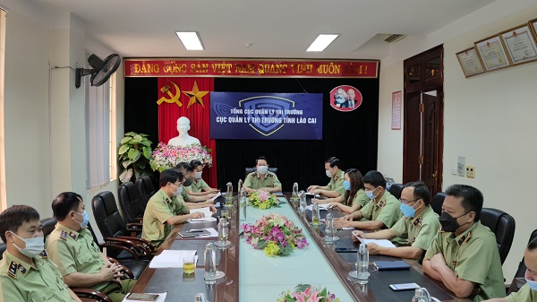 Cục QLTT tỉnh Lào Cai tổ chức họp triển khai các giải pháp hỗ trợ tiêu thụ Vải