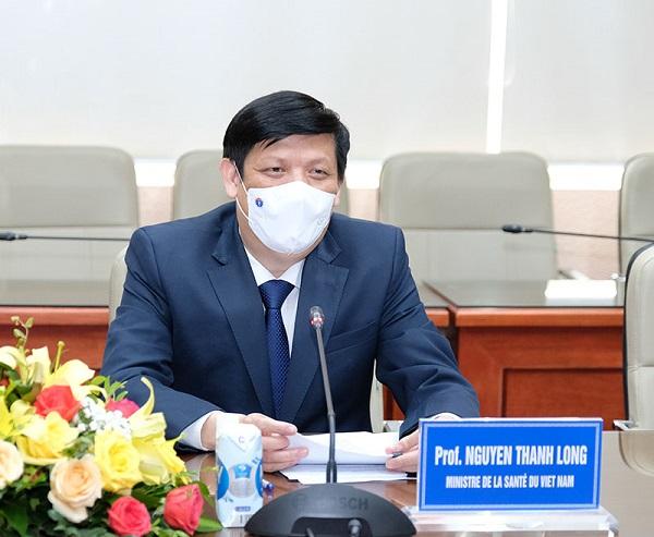 GS.TS Nguyễn Thanh Long, Bộ trưởng Bộ Y tế