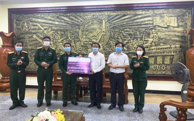 Năm 2020, Công ty Điện lực Thừa Thiên Huế cũng ủng hộ hoạt động phòng chống dịch Covid- 19 500 triệu đồng