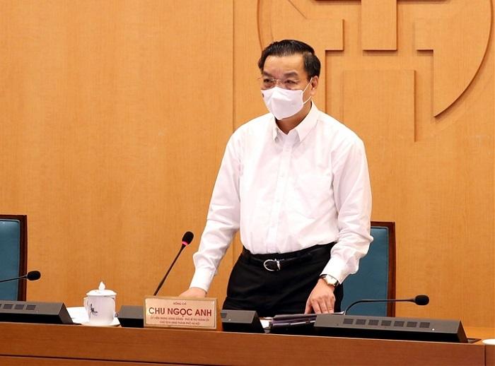 Chủ tịch UBND TP. Hà Nội Chu Ngọc Anh