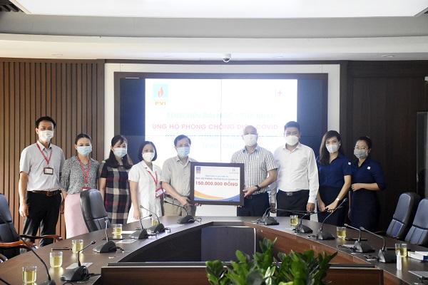 Bảo hiểm PVI ủng hộ chương trình phòng chống Covid-19 tại Bệnh viện Đại học Y Hà Nội