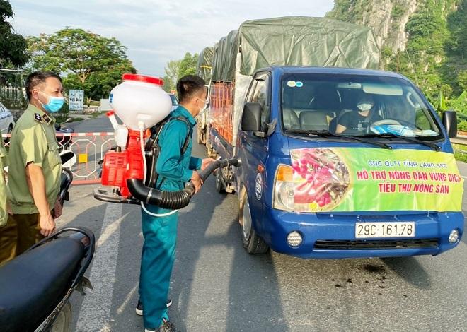 Công tác vận chuyển được bảo đảm an toàn về phòng chống dịch Covid-19