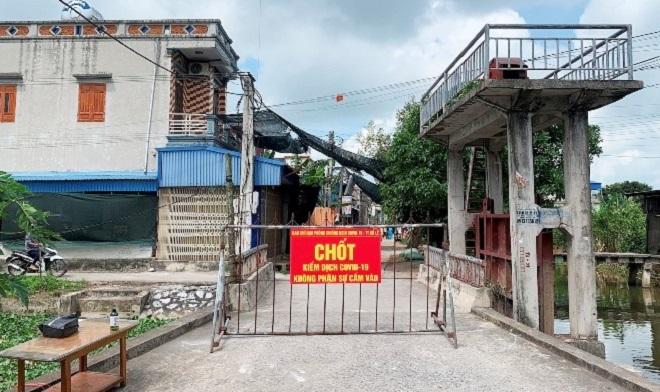 Tổ dân phố Tây Kênh, thị trấn Cổ Lễ, huyện Trực Ninh (Nam Định), nơi đã được dỡ bỏ phong tỏa vừa ghi nhận một ca tái dương tính với SARS-CoV-2 sau khi khỏi bệnh.