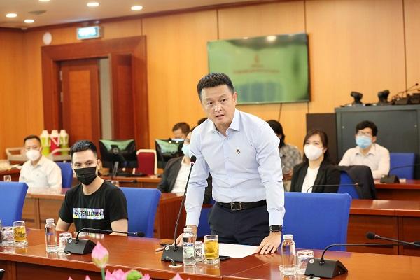 Ông Đặng Minh Trường - Chủ tịch HĐQT TĐ Sun Group phát biểu tại buổi Lễ