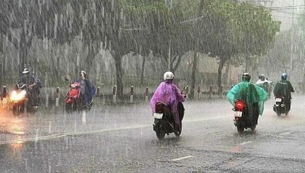 (12/6) đến ngày 14/6, ở Bắc Bộ và khu vực từ Thanh Hóa đến Thừa Thiên Huế có mưa vừa, mưa to, có nơi mưa rất to