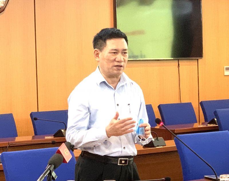 Bộ trưởng Bộ Tài chính Hồ Đức Phớc khẳng định sẽ thanh tra HOSE đi đôi với khắc phục bất cập của TTCK - Ảnh:VGP