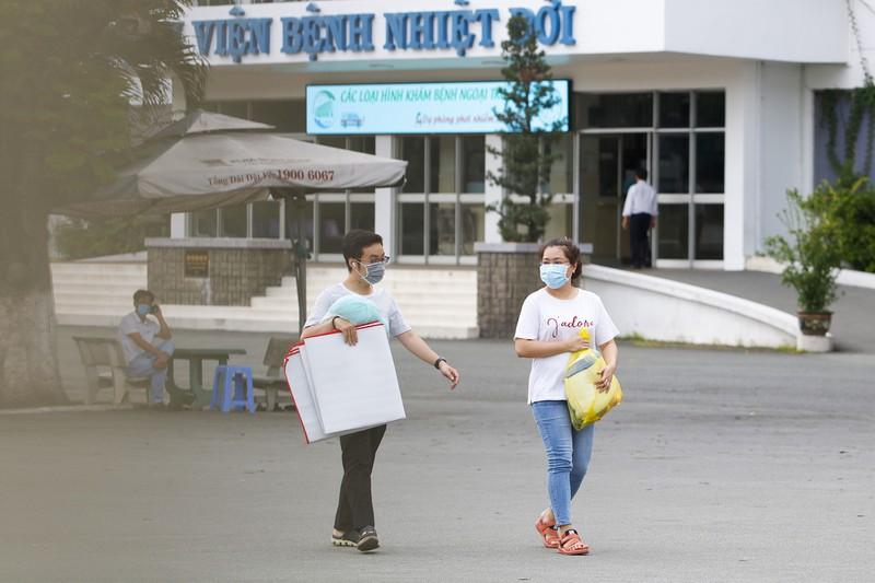 Bệnh viện Bệnh nhiệt đới TP.HCM đã bị tạm phong tỏa