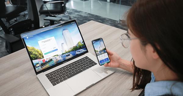 Các ứng dụng ngân hàng tiện lợi như BIDV SmartBanking cho phép đăng nhập thống nhất trên mọi thiết bị (Mobile, Laptop, PC, Apple Watch….)