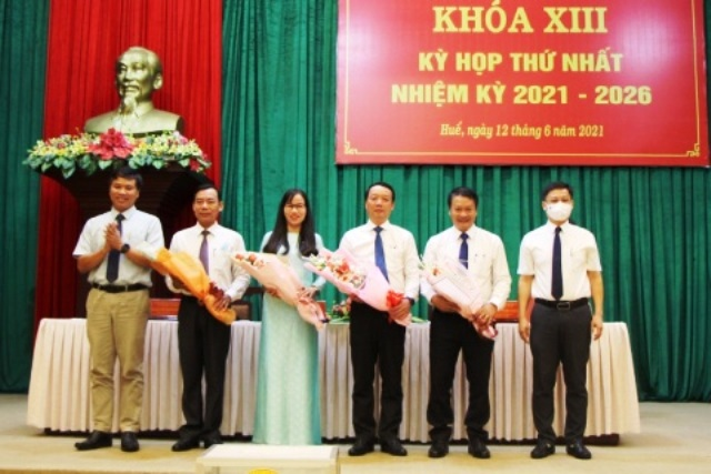 Bầu các chức danh của HĐND nhiệm kỳ 2021- 2026