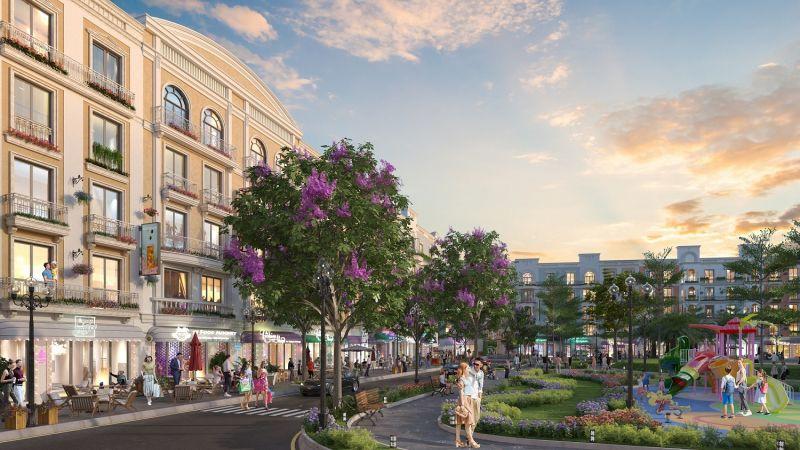 Sun Grand Boulevard sẽ mở ra những tuyến phố kinh doanh sầm uất tại phố biển Sầm Sơn