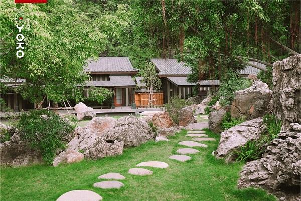 Khu nghỉ dưỡng khoáng nóng Yoko Onsen Quang Hanh như một ngôi làng Nhật giữa thung lũng xanh