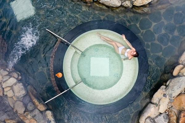 Yoko Onsen Quang Hanh có nhiều loại hình bể tắm khoáng độc đáo với nhiều công dụng cho sức khỏe