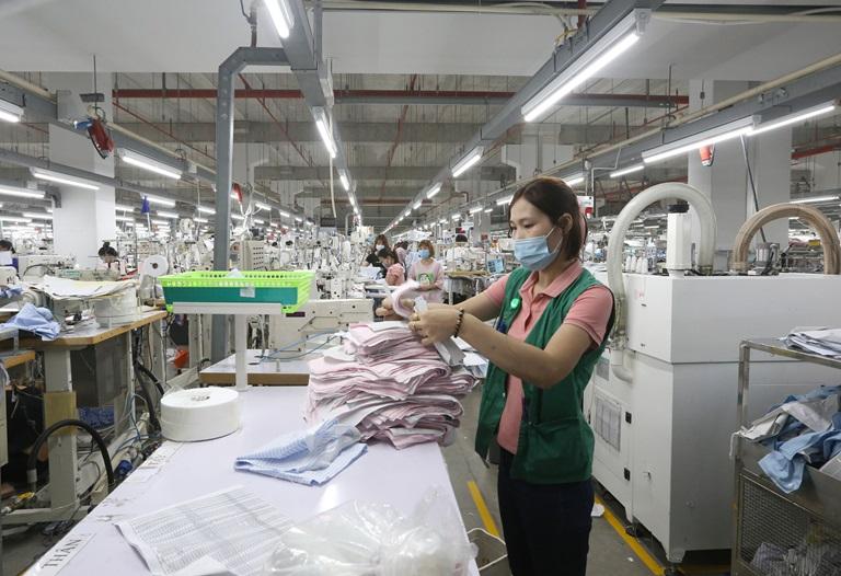 Công ty TNHH Sản xuất hàng may mặc Việt Nam (KCN Bá Thiện II)