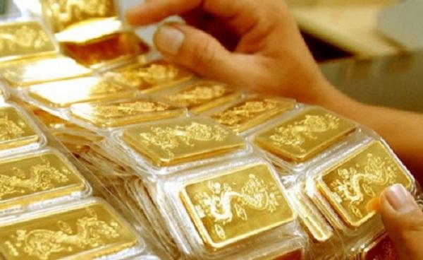 Vàng trong nước về mức 56 triệu đồng/lượng