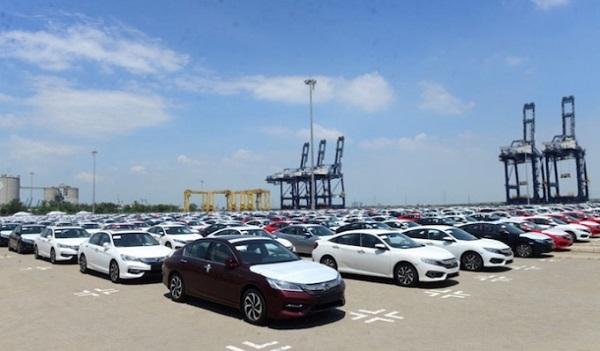 Nửa đầu tháng 6/2021, Việt Nam nhập khẩu hơn 6.170 ô tô các loại