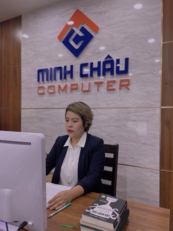 Nữ CEO Minh Châu Computer - Đường Minh Châu