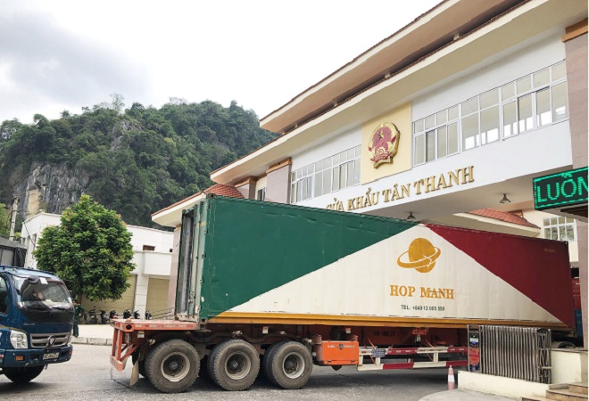 Cửa khẩu Tân Thanh (Lạng Sơn)