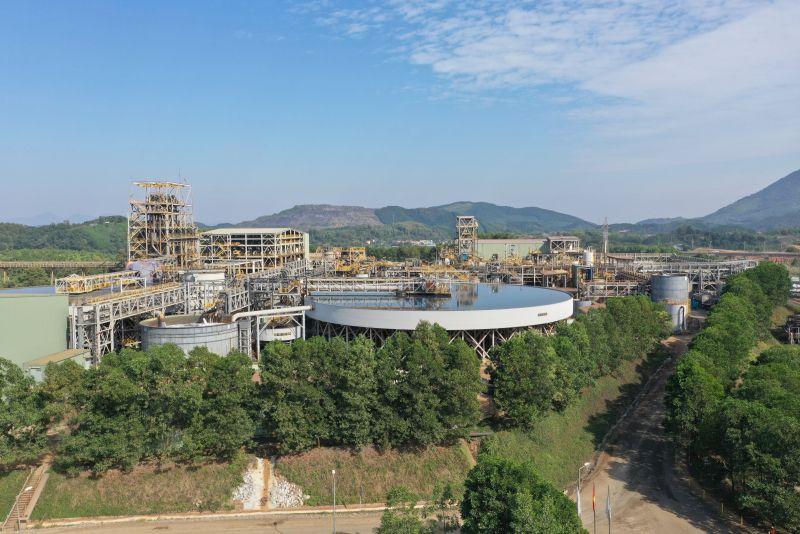 Nhà máy khai thác chế biến khoáng sản hiện đại tại mỏ Núi Pháo - Việt Nam