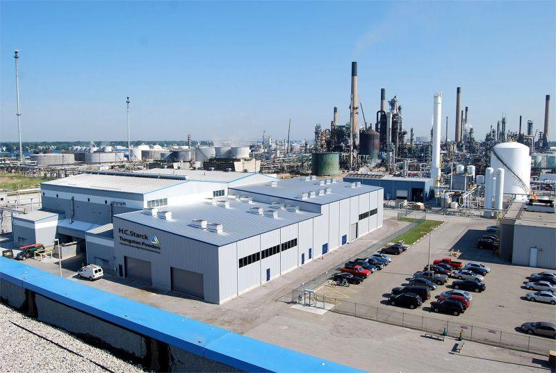 Tổ hợp nhà máy chế biến của Masan High-Tech Materials tại Canada