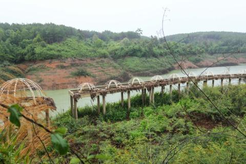 Khung cảnh bên trong KĐT Đại Ninh (tỉnh Lâm Đồng)