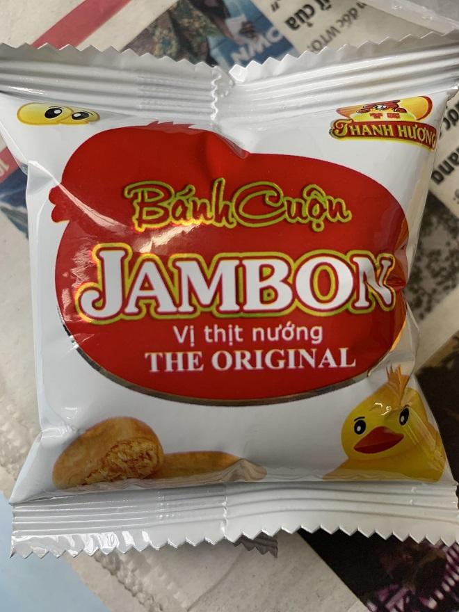 Bánh cuộn JAMBON - vị thịt nướng THE ORIGINAL: Chỉ... ngửi, đâu dám ăn?