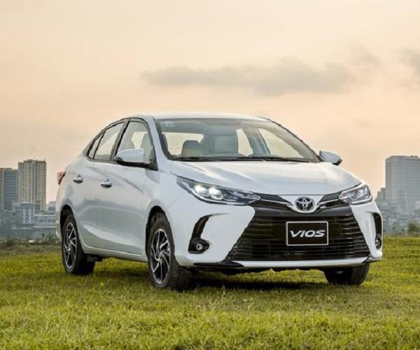 Toyota Vios hỗ trợ lệ phí trước bạ lên đến 30 triệu đồng trong tháng 7/2021