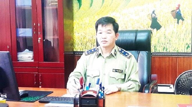 Cục trưởng Cục Quản lý thị trường tỉnh Đặng Văn Ngọc