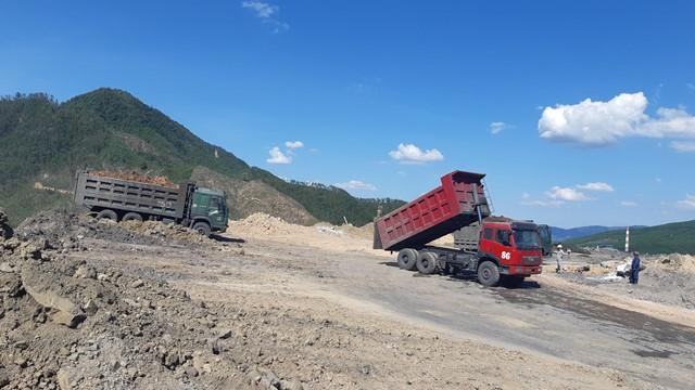 Khi sảy ra hiện tượng cháy bãi thải gây mùi Phía Công ty CP Than - Điện Nông Sơn đã quyết liệt và báo cáo chính quyền địa phương và ngành chức năng tỉnh Quảng Nam