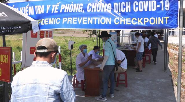 Tỉnh Quảng Nam siết chặt các chột kiểm tra dịch ra, vào
